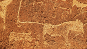 cave drawings Pulse size